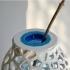 Voronoi PET Bottle Vase image