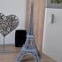 Eiffel Tower Model print image