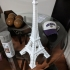 Eiffel Tower Model print image