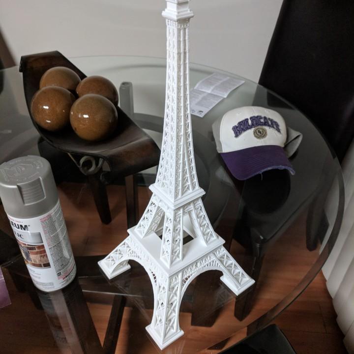 Eiffel Tower Model