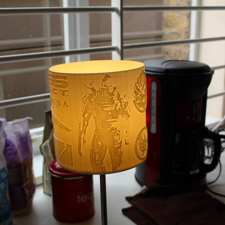 Mass Effect - Litho Lamp Shade