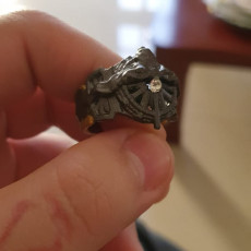 Picture of print of ring of the lucii