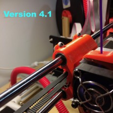 Max Micron (an other Prusa i3 clones) Adjustable stop X carriage