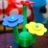Lifesize Lego Flowers image