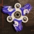 Duke Blue Devil Fidget Spinner - Wingnut2k image