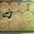 Georgia Southern Eagle Cookie Cutter image