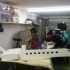 Gulfstream G650 Flat Pack Scale Model image