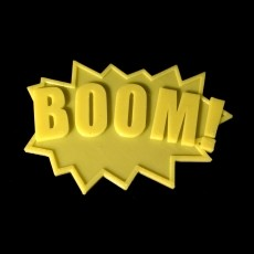 BOOM! Fighting Action Word