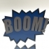 BOOM! Fighting Action Word image