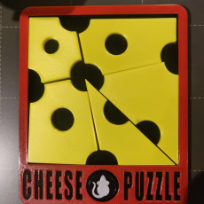 Picture of print of Cheese Puzzle