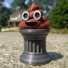 Poop Emoji Trophy