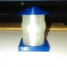 Tardis Lamp w/ 1  Base