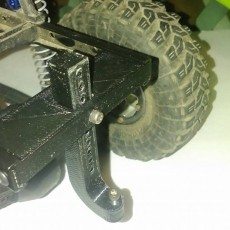 SCX10 Trailer Hitch