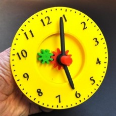 Teach a child to tell the time