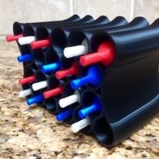 Ribbon Loop Wine Rack