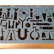 Chemistry Stencil