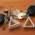 Triangle key holder image