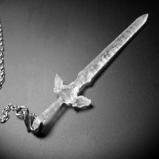 Master Sword Zelda Pendant