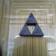 Picture of print of Trifroce Zelda Pendant
