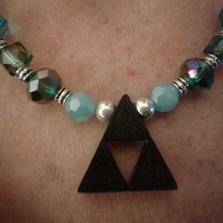 Trifroce Zelda Pendant