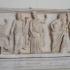 Marble relief depicting Jupiter, Pluto, Persephone, Neptune and Amphitrite image