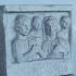 Funerary relief Vettia Hospita and Lucius Vettius Alexander image