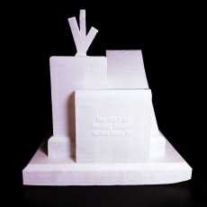 2017 3d Printing Industry Award Trophy