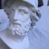 Bust of Menelaus print image