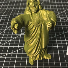 Picture of print of Buddy Christ