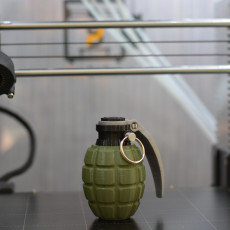 Picture of print of Grenade spice jar