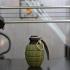 Grenade spice jar print image