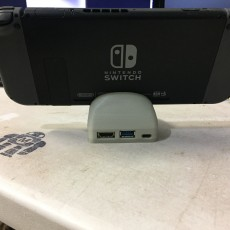 Picture of print of Mini Nintendo Switch docking station