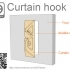 Curtain hook image