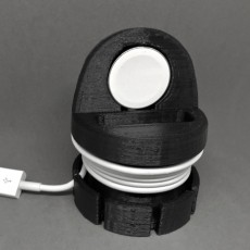 Apple Watch Travel Charging Stand and Cord Organizer