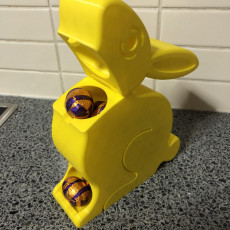 Picture of print of Easter Egg Dispenser Bunny