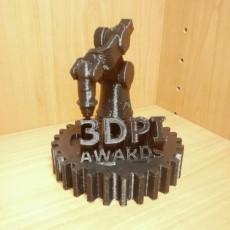3DPI Awards 2017 Trophy