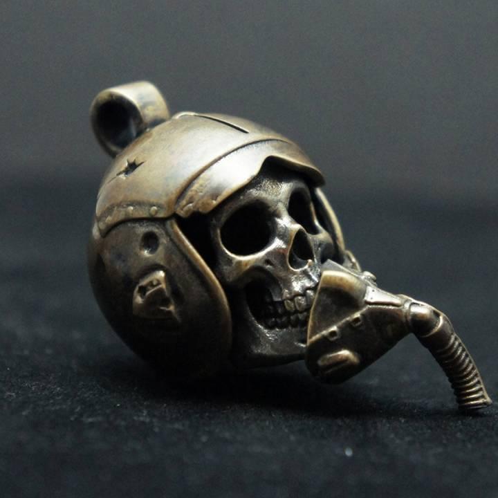 """Maverick"" Pilot Skull"