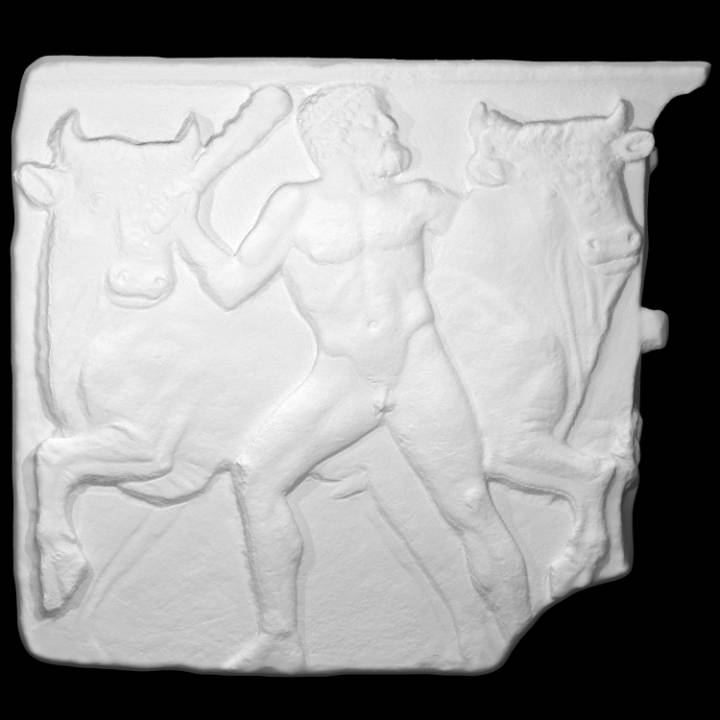 Relief of Hercules and the Cretan Bull