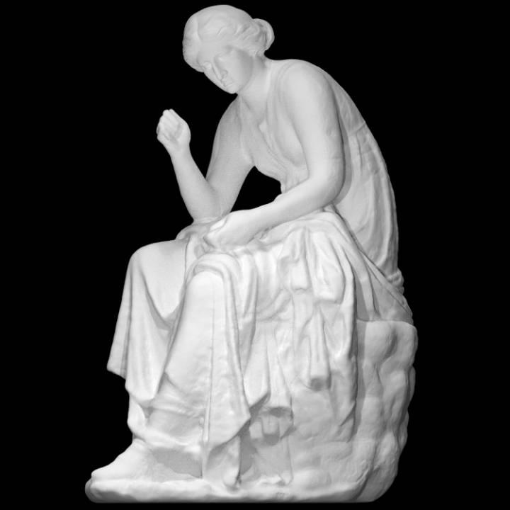Statue of Calliope