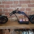 Motorcycle Chopper Nixie clock image