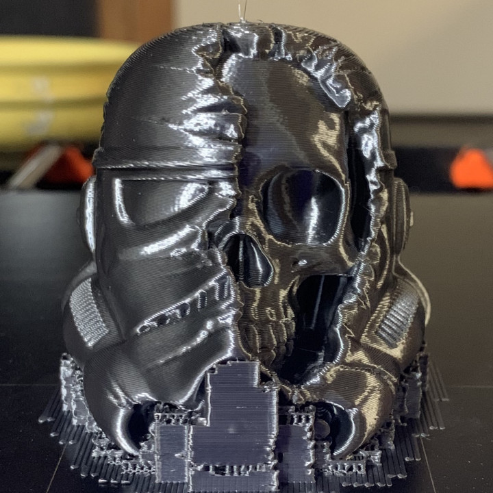 3D Print of Star Wars Death Trooper by twobrains3d