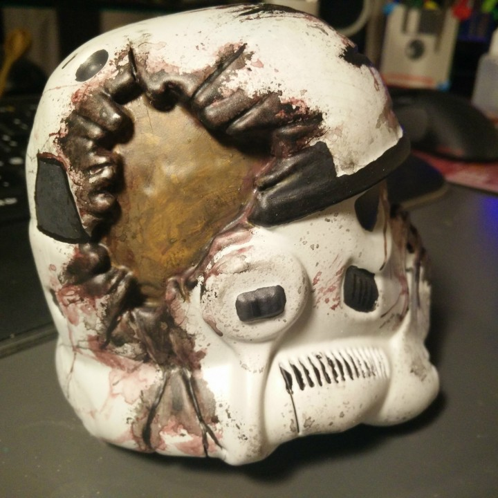 Picture of print of Star Wars Death Trooper This print has been uploaded by Antonio Giudice