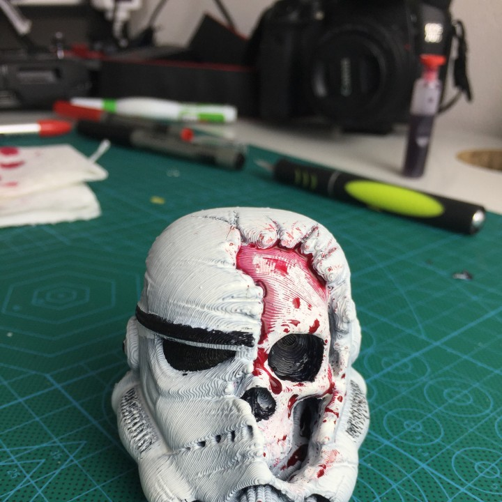 Picture of print of Star Wars Death Trooper This print has been uploaded by Abdallah Bratos