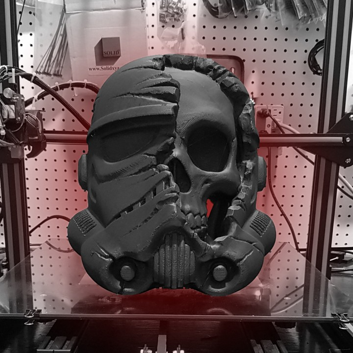 Picture of print of Star Wars Death Trooper This print has been uploaded by Create Cafe 3D Printing Solutions and Education