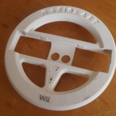 Picture of print of Wii wheel