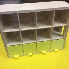 Plastic Drawer for Wooded Box