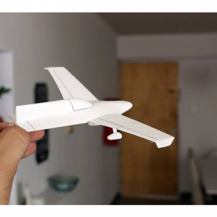 Easy to print Concept Aircraft (1:43)