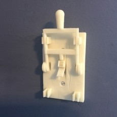 Reprint of Frankenstein Light Switch Plate from LoboCNC