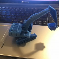 Picture of print of Easy to print Generic Excavator (esc: 1:100)