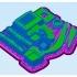 Easy to print Generic Excavator (esc: 1:100) image